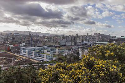 Photograph - Edinburgh City Vista by David Warrington