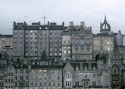 Photograph - Edinburgh by Kenneth Campbell