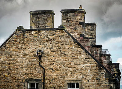Photograph - Edinburgh Roof Line by Jean Noren