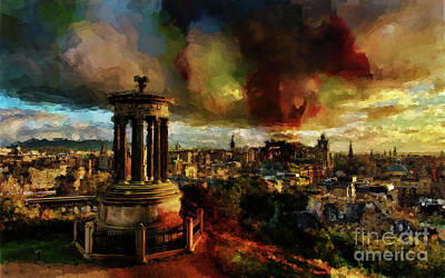 Edinburgh Scotland 01 Art Print