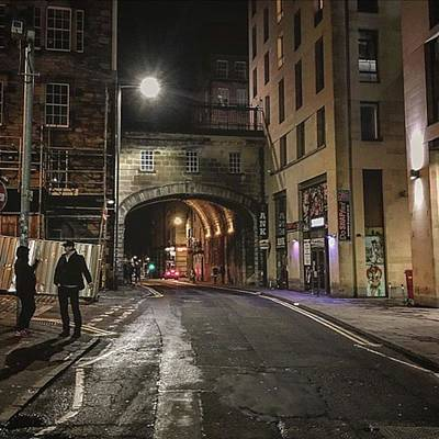 Wall Art - Photograph - Night In Cowgate by Elias Gk