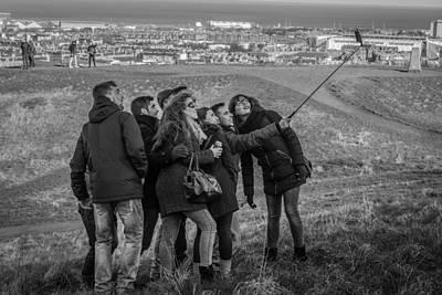 Photograph - Edinburgh Smile by David Warrington