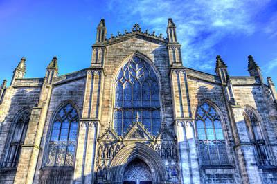Photograph - Edinburgh St Giles Cathedral by David Pyatt
