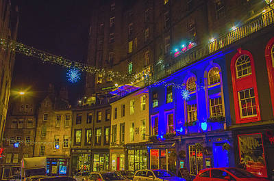 Photograph - Edinburgh - Victoria Street by Edyta K Photography