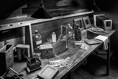 Photograph - Edison's Darkroom by Lynn Palmer