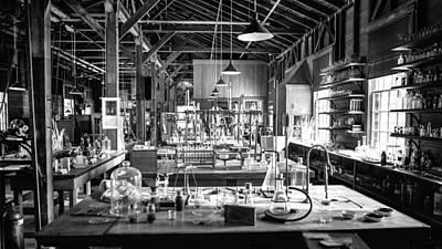 Photograph - Edison's Laboratory by Lynn Palmer