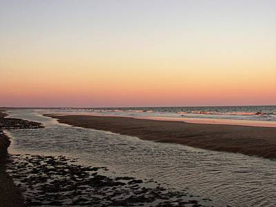 Photograph - Edisto Beach Sunset by Joshua Bales