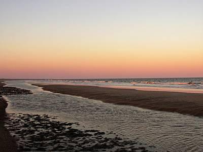 Photograph - Edisto Beach Sunset by Joshua Bales