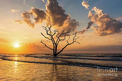 Photograph - Edisto Island Sunrise I by Clarence Holmes