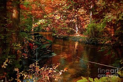 Mixed Media - Edisto Memorial Gardens South Carolina by Bob Pardue