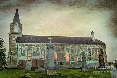 Photograph - St. Michael's Cemetery by Lynn Sprowl