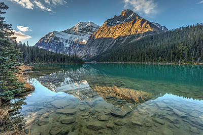 Photograph - Edith Cavell Sunrise by Pierre Leclerc Photography
