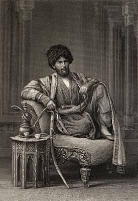 Edmond O Donovan,1844-1883. British Art Print