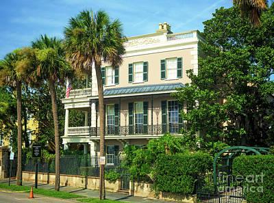 Photograph - Edmondston-alston House Charleston by John Rizzuto