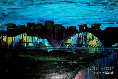 Kim Digital Art - Edmonton Landscape 2 by Kim Peto