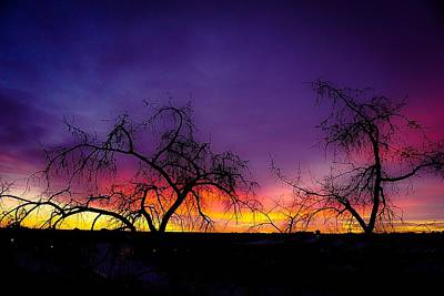 Photograph - Edmonton Sunset by Desmond Raymond
