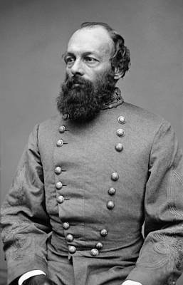 Photograph - Edmund Kirby Smith - Confederate Officer by War Is Hell Store