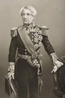 Lord Drawing - Edmund Lyons, Baron Lyons,lord Admiral by Vintage Design Pics