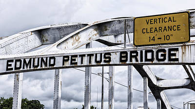Edmund Pettus Bridge - 1 Art Print