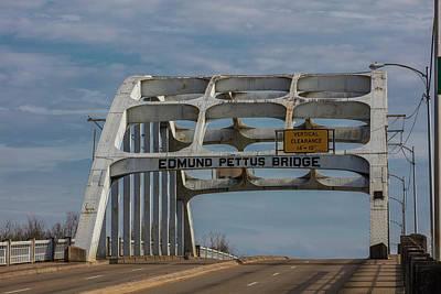 Photograph - Edmund Pettus Bridge  by John McGraw