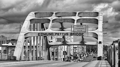 Rosa Parks Photograph - Edmund Pettus Bridge - Selma by Stephen Stookey