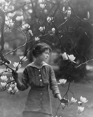 Edna St. Vincent Millay 1892-1950 Art Print by Everett
