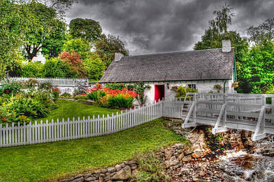 Edradour Distillery Shop Art Print