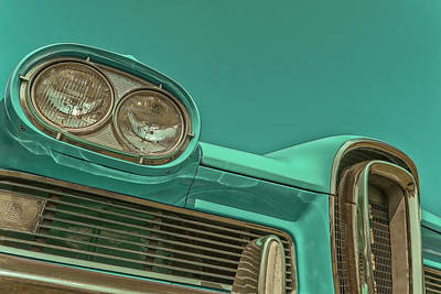 Photograph - Edsel by Jerry Golab