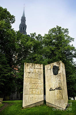 Photograph - Eduard Vilde Memorial Tallinn by RicardMN Photography
