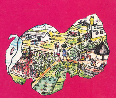 Education Et Citoyennete Au Rwanda Art Print