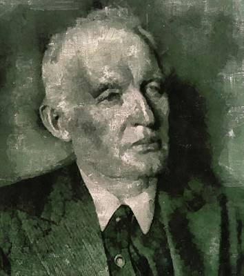 Edvard Munch, Artist Art Print by Mary Bassett