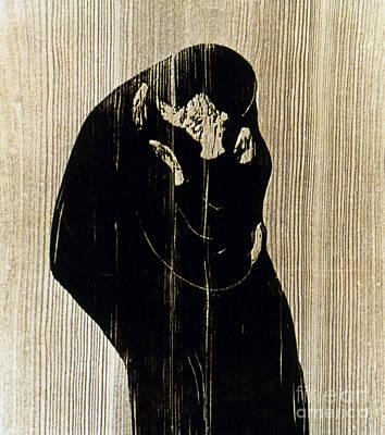 Photograph - Edvard Munch: The Kiss by Granger