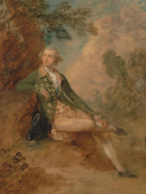 18th Century Painting - Edward Augustus Duke Of Kent by Thomas Gainsborough