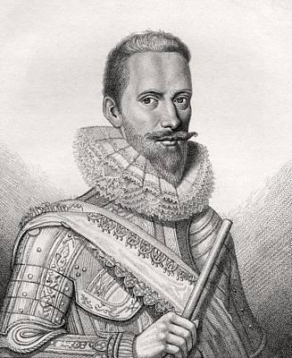 Edward Cecil 1st Viscount Wimbledon Art Print