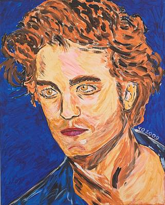 Painting - Edward Cullen by Valerie Ornstein