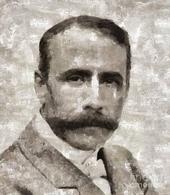 Edward Elgar, Composer Art Print by Mary Bassett