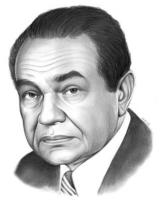 Edward G. Robinson Art Print by Greg Joens