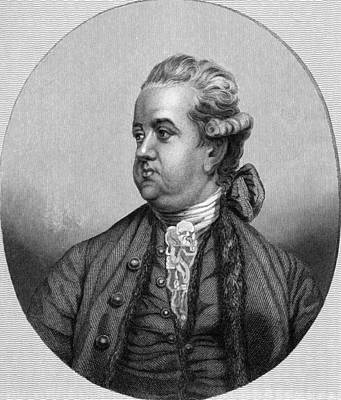 Edward Gibbon, English Historian Art Print by Middle Temple Library