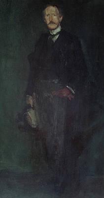 Whistler Painting - Edward Guthrie Kennedy by James Abbott McNeill Whistler