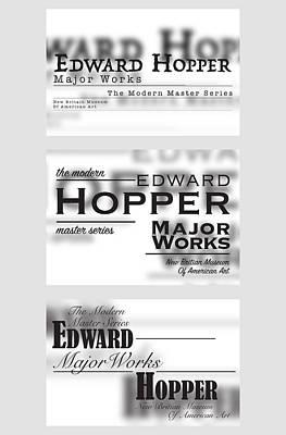 Edward Hopper Series  Original