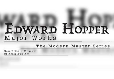 Edward Hopper, Trattatello Original