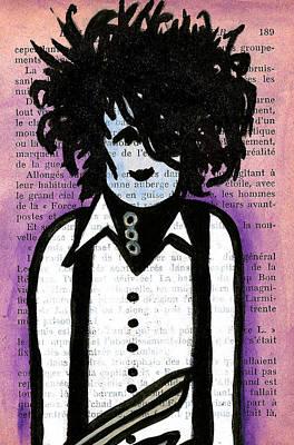 Johnny Depp Drawing - Edward by Jera Sky