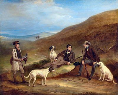 Photograph - Edward Reynard And Brother George Hunting, by John Ferneley
