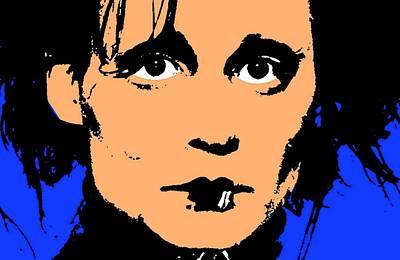 Johnny Depp Mixed Media - Edward Scissorhands by Otis Porritt