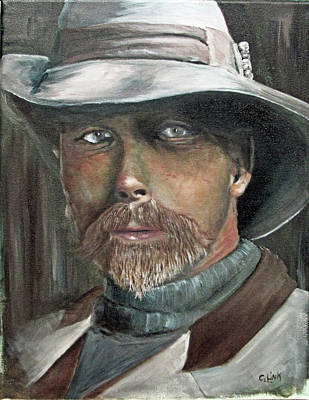 Painting - Edward Sheriff Curtis by Catherine Link