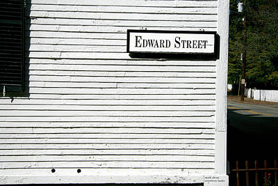 Photograph - Edward Street by Mark Alesse