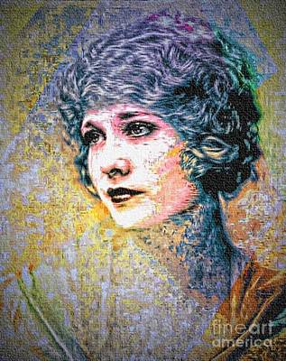 Mixed Media - Edwardian Look - 1920s by Ian Gledhill
