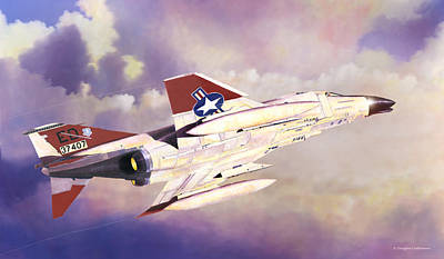 Edwards Air Force Base Phantom Art Print