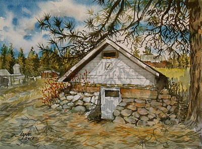 Edwards Root Cellar Art Print