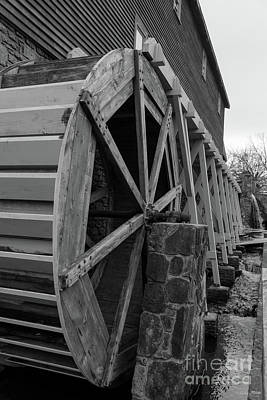 Photograph - Edwards Water Wheel by Jennifer White